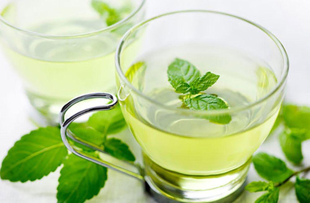 Kết quả hình ảnh cho chữa đầy bụng khó tiêu từ trà bạc hà
