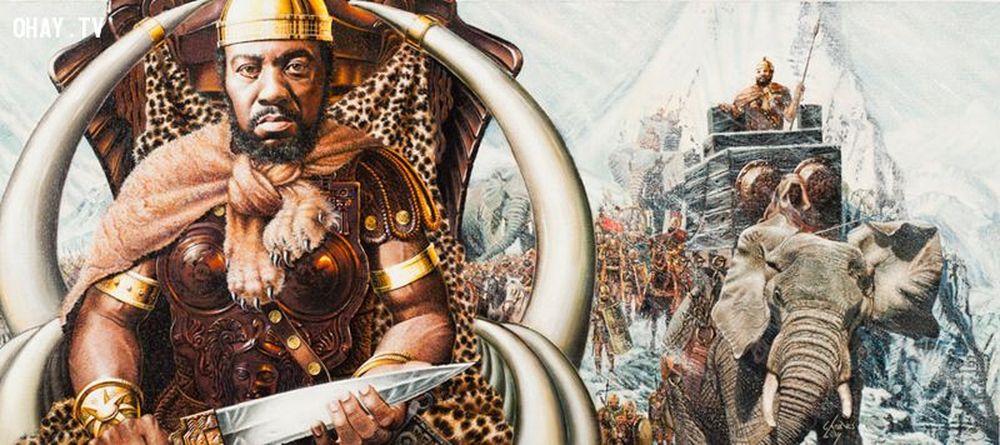 Hannibal, con trai của Hamilcar Barca (sinh năm 247 TCN - mất 183 TCN), là  một tướng lĩnh và nhà chiến thuật quân sự người Carthage.