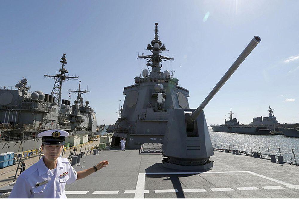 Thông tin Nhật Bản muốn triển khai hệ thống lá chắn tên lửa Aegis BMD tại  nước này xuất hiện chỉ vài ngày sau khi một tên lửa đạn đạo Triều Tiên ...