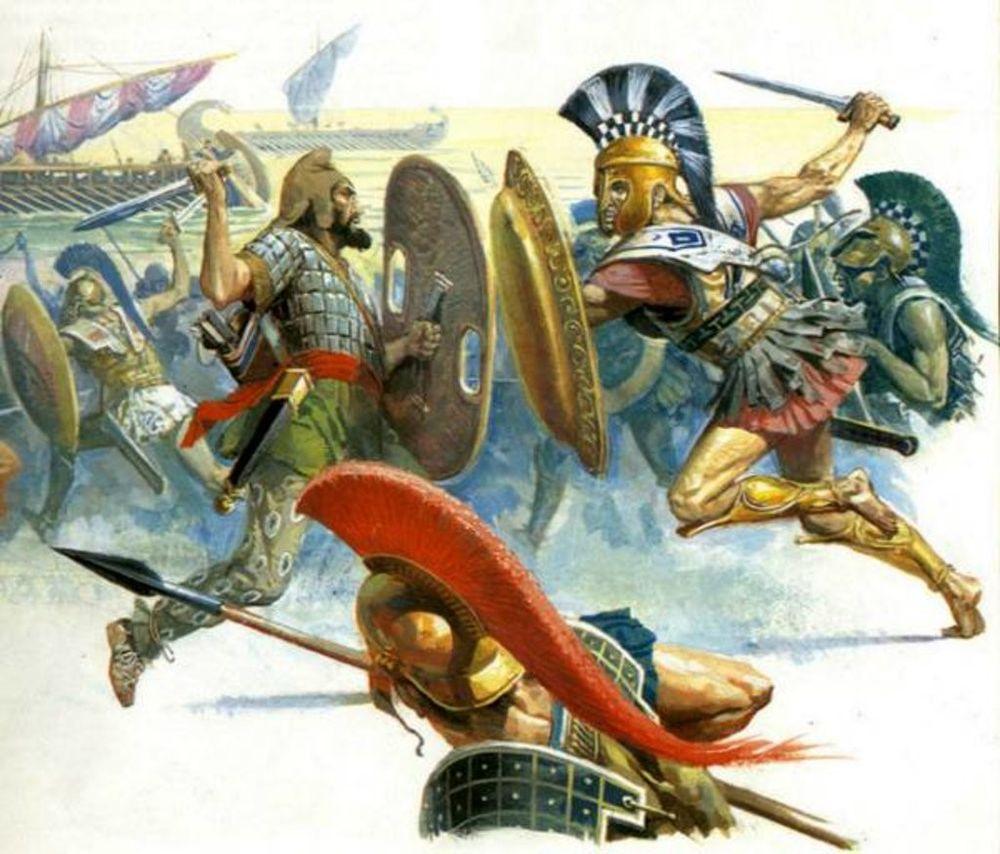 Trận đánh kinh điển nào 300 chiến binh chống 10.000 quân?