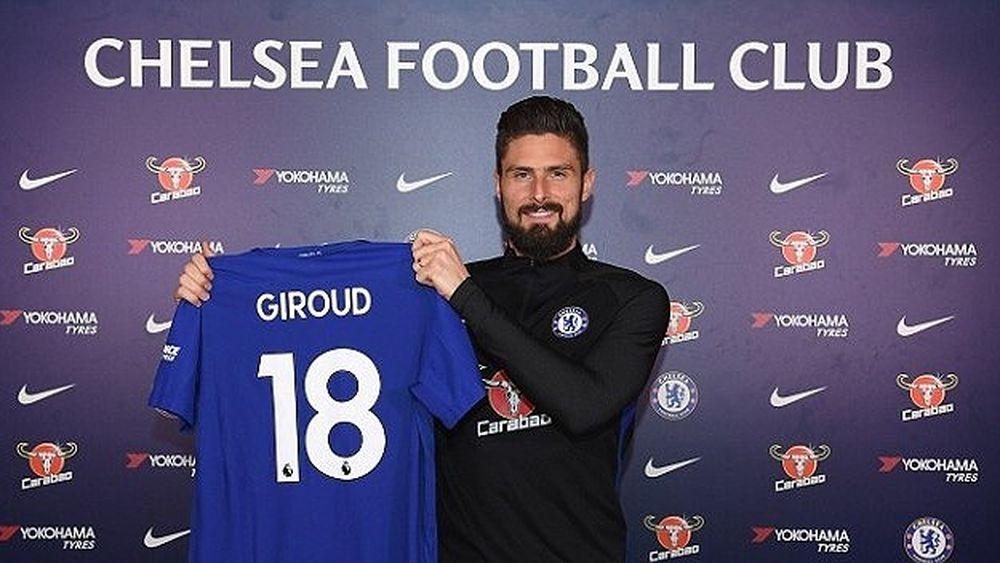 Giroud đầu quân cho Chelsea trong ngày cuối cùng của thị trường chuyển  nhượng mùa Đông (Ảnh: Chelsea).