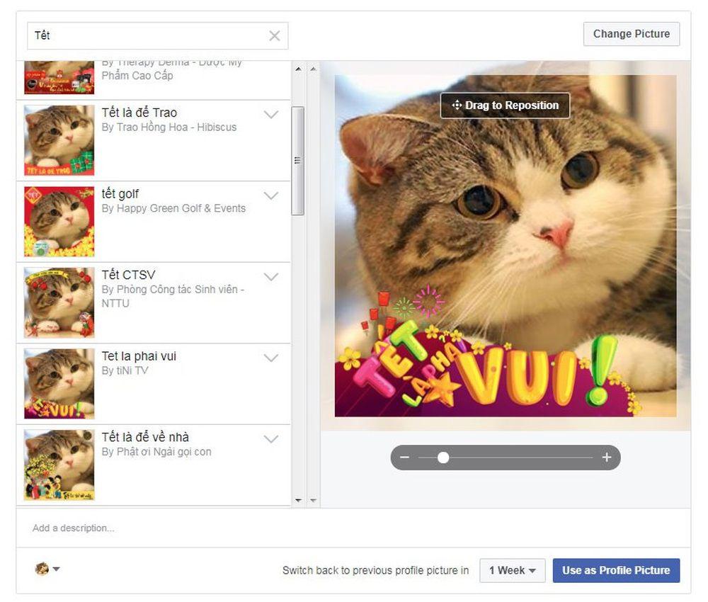 Việc lắp khung ảnh cho avatar Facebook khá đơn giản, chúng ta chỉ cần vào công cụ ở địa chỉ facebook.com/profilepicframes (hoặc vào đây) và chọn.