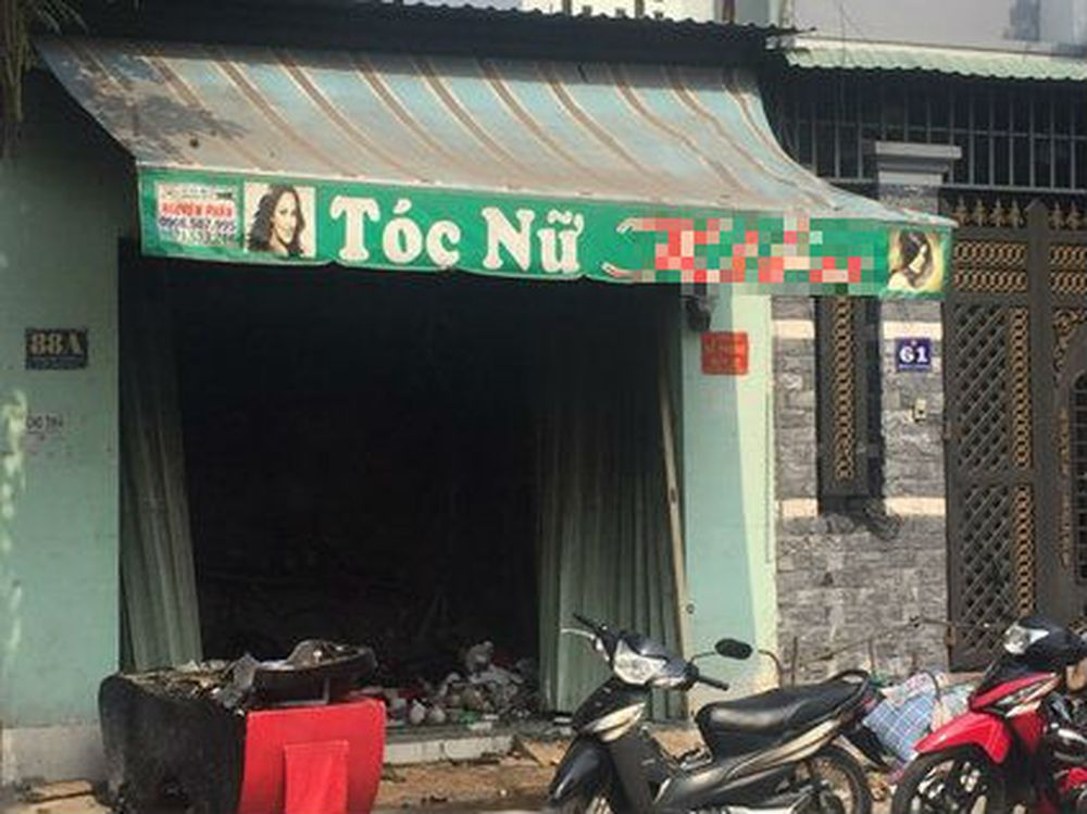 Đôi nam nữ chết cháy trong tiệm tóc: Để lại đứa con 5 tuổi
