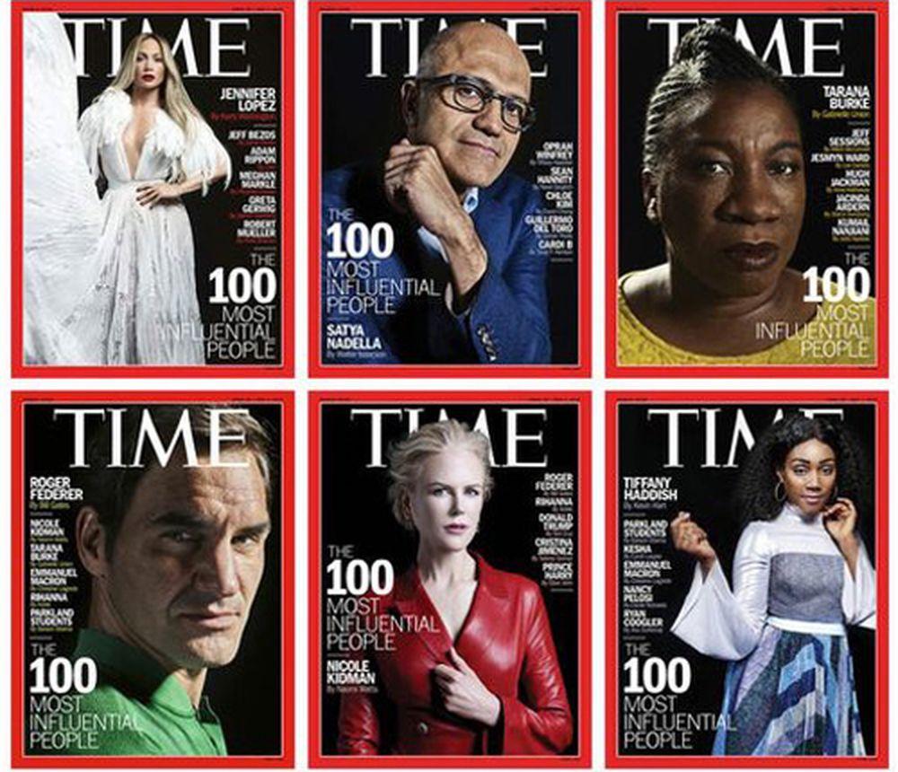Phái nữ và giới trẻ \u0027lên ngôi\u0027 trong danh sách 100 người ảnh hưởng nhất thế giới của tạp chí Time
