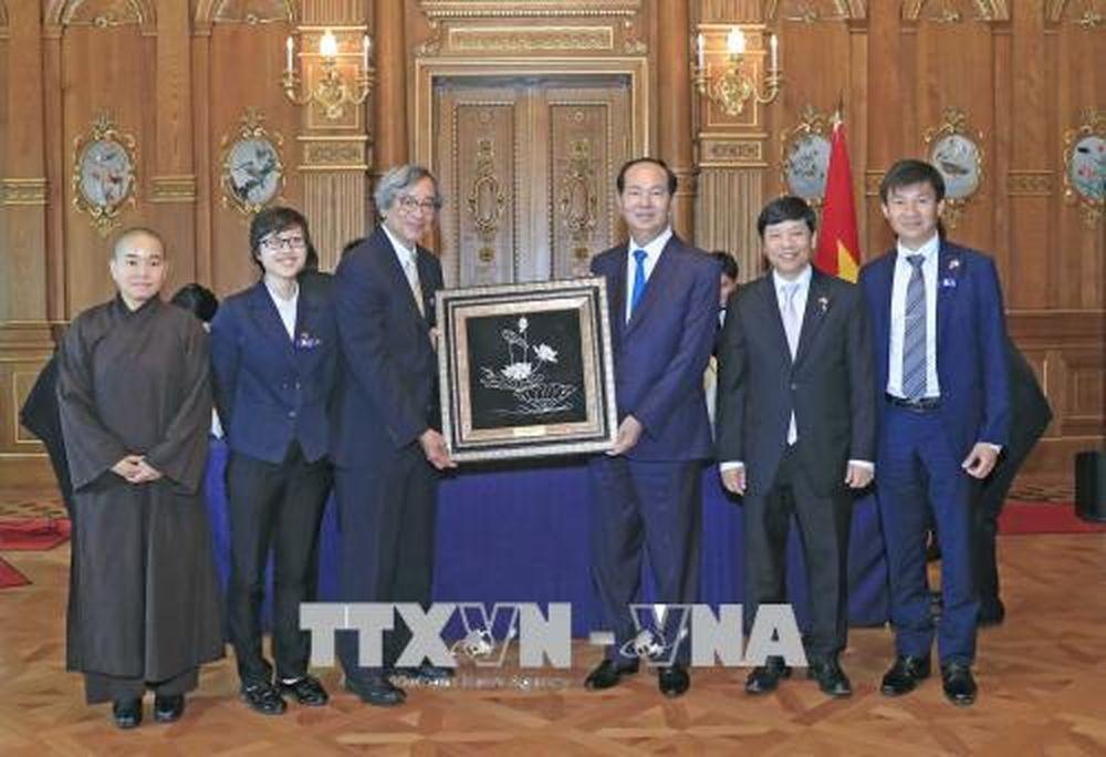 Chủ tịch nước gặp gỡ đại diện cộng đồng người Việt tại Nhật Bản