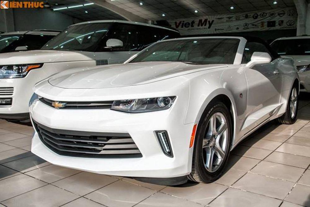 Soi Chevrolet Camaro Mui Trần 2017 Gia Hơn 3 Tỷ Tại Vn Bao Kiến