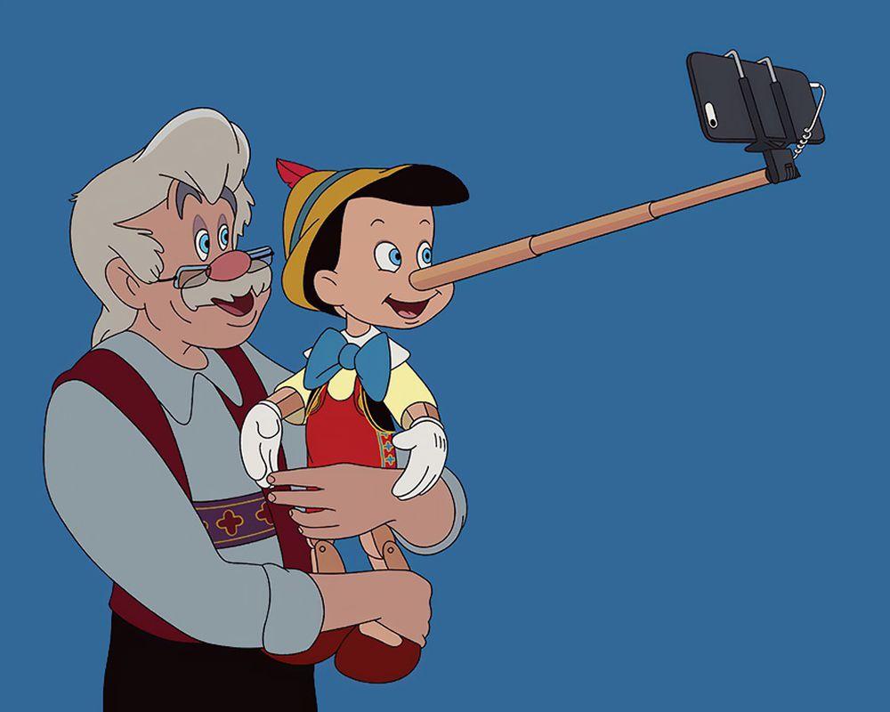 Chiếc Mũi Pinocchio Ngoài Phát Hiện Nói Dối Giờ Đã Có Thêm Công Dụng Hỗ Trợ  'Sống Ảo'