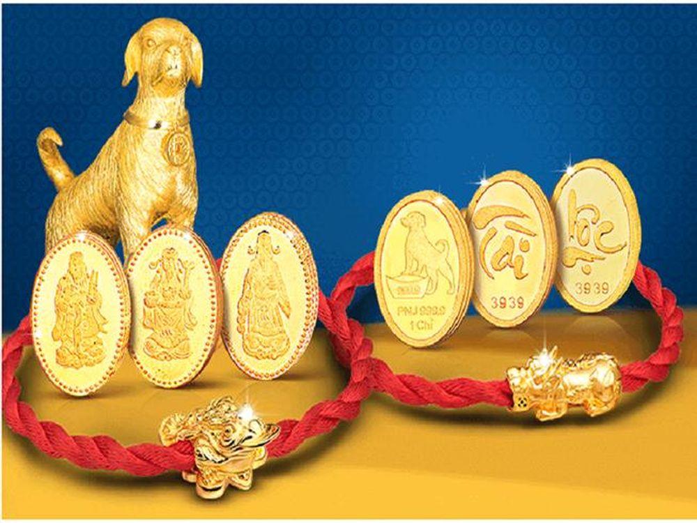 Mua vàng lấy may và tích trữ