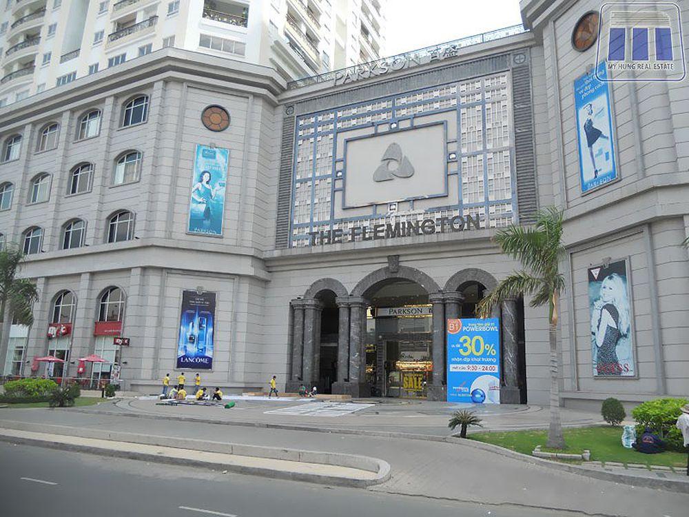 TTTM Parkson Flemington trên đường Lê Đại Hành. Nguồn: Căn hộ Sài Gòn