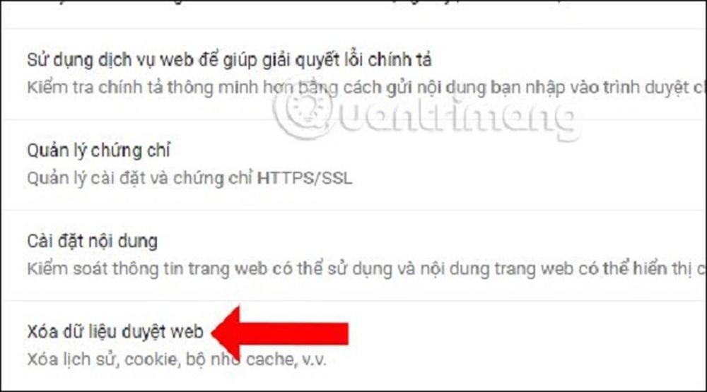 Thủ thuật xử lý lỗi gõ tiếng Việt trên thanh địa chỉ Google