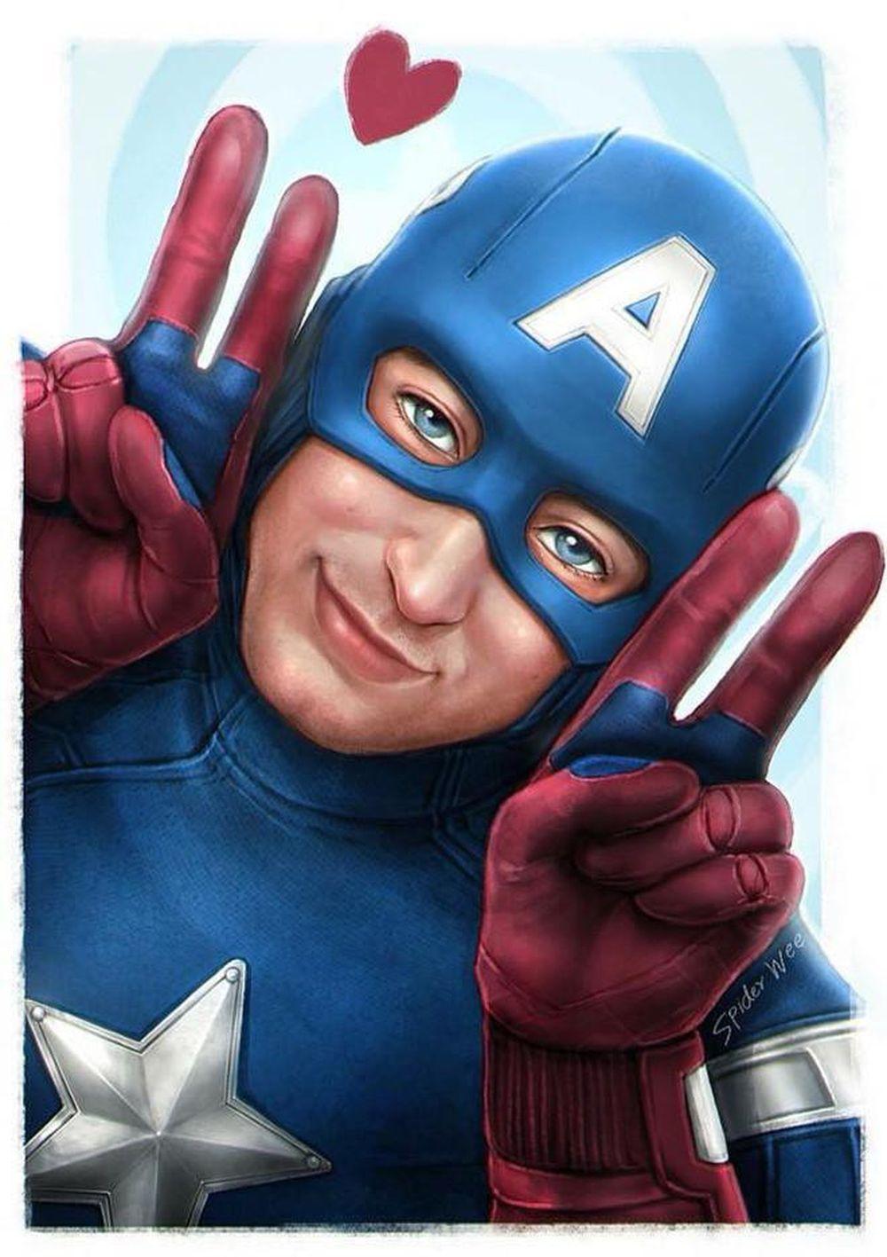 bộ ảnh chế hài hước về các siêu anh hùng