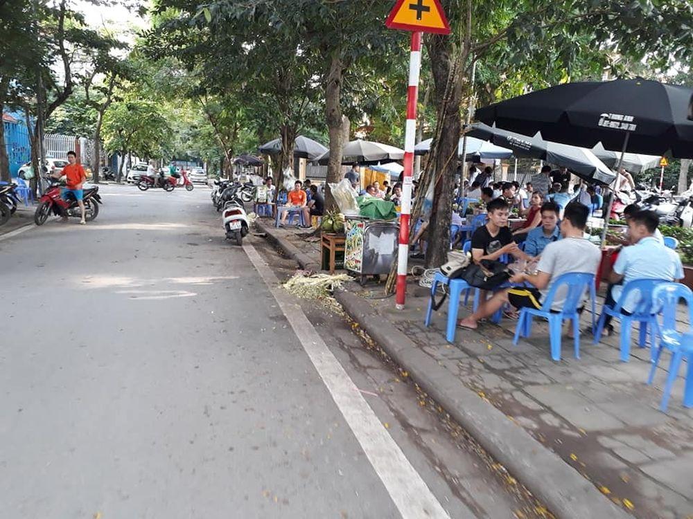 Phường Định Công, Hà Nội: Vỉa hè 'biến' thành nơi kinh doanh ...