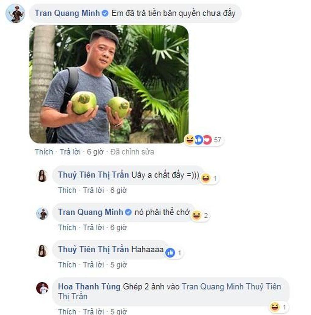 Không tỏ ý khen chê, Quang Minh để lại lời nhắn hài hước khiến cư dân mạng cười bò khi cho rằng mình bị ăn cắp bản quyền: \u201cEm đã trả tiền bản quyền chưa ...