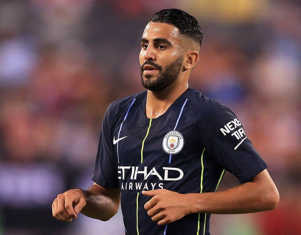 Image result for tiền vệ Riyad Mahrez 2019 man city sad