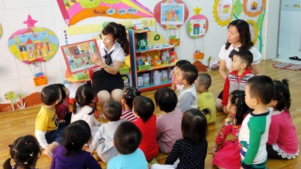 Hỗ trợ ăn trưa và chi phí học tập cho trẻ học mầm non công lập tại khu công  nghiệp, khu chế xuất - Báo Pháp Luật & Xã Hội
