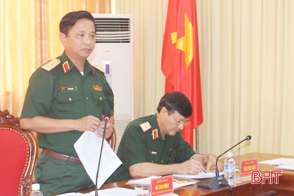 Bộ Tư Lệnh Quan Khu 4 Co Tham Mưu Trưởng Mới Bao Ha Tĩnh