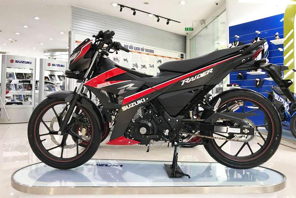 Xe máy Suzuki Raider R150 mới giá 55,6 triệu tại Việt Nam - Báo Kiến