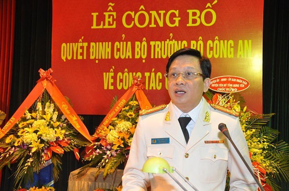 Thượng Tá Trần Đình Đức - Phó Giám Đốc Công An Tỉnh Hải Dương.