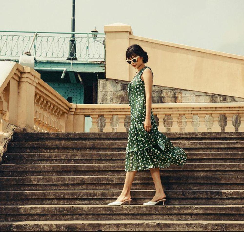 Những chiếc váy làm thỏa cơn khát thời trang màu xanh lá cho mọi cô gái -  SaoStar