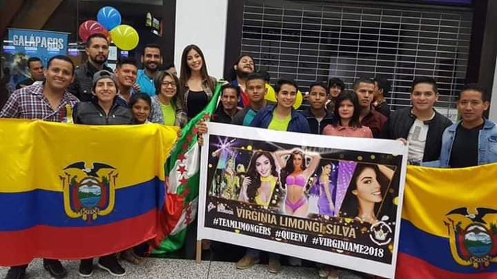 Hình Ảnh Virginia Limongi Trong Vòng Vây Của Fans Hâm Mộ Nước Nhà Tiễn Cô  Lên Đường Chinh Chiến Tại Miss Universe 2018.