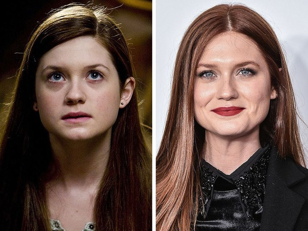 Image result for black and white ginny weasley