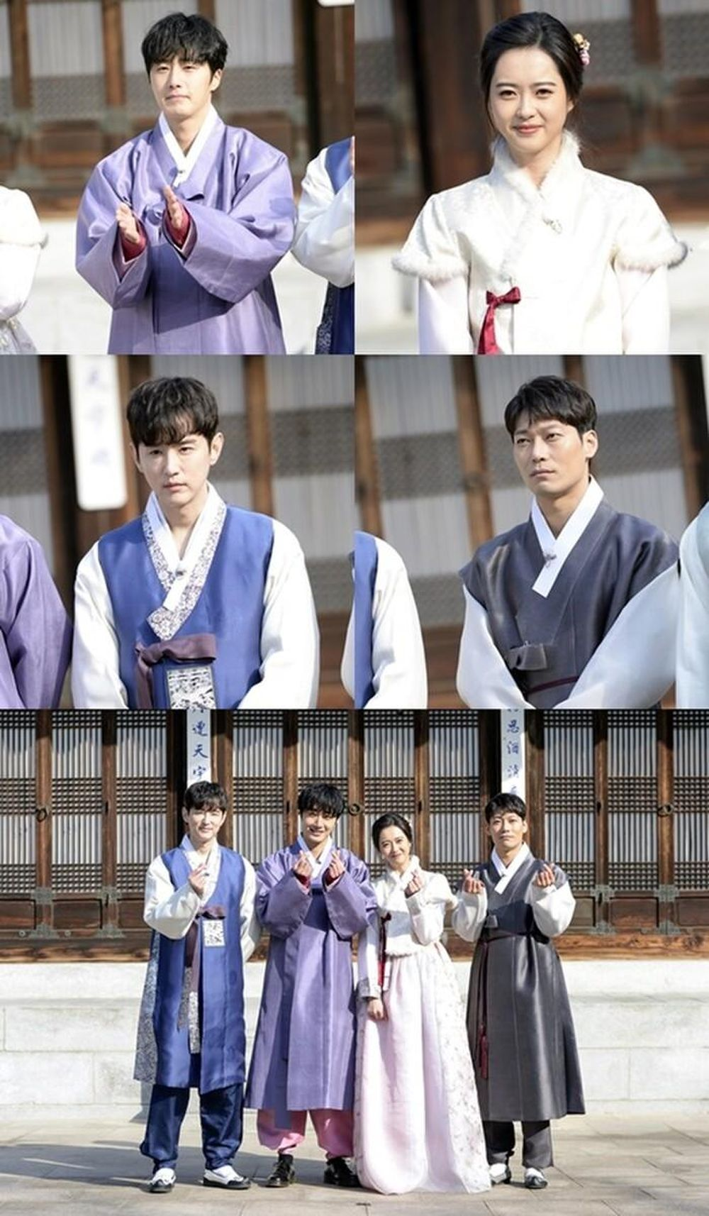 haechi tiết lộ ảnh chuc tết tươi trẻ của go ara jung il woo va kwon yul saostar go ara jung il woo va kwon yul