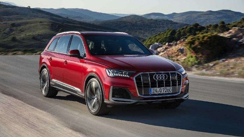 Audi Q7 2020 Co Diện Mạo Mới đồng Bộ Hoa Thiết Kế Với Cac Dong Sản Phẩm Của Audi Vnmedia