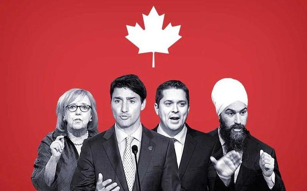 Kết quả hình ảnh cho Bầu cử Canada