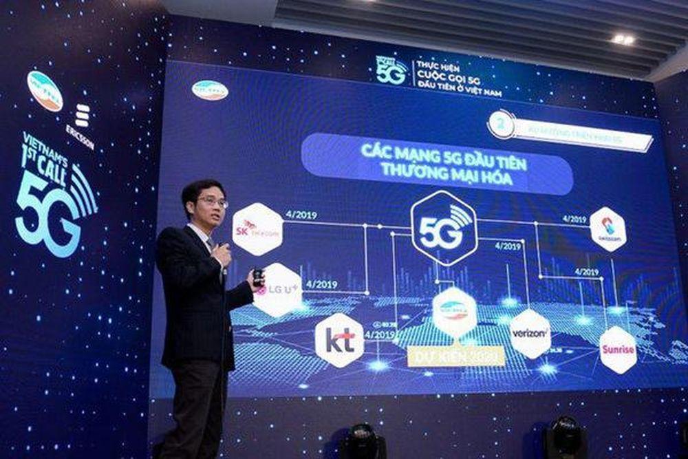 Việt Nam sẵn sàng cho 'tàu tốc hành' 5G - Báo VietnamNet