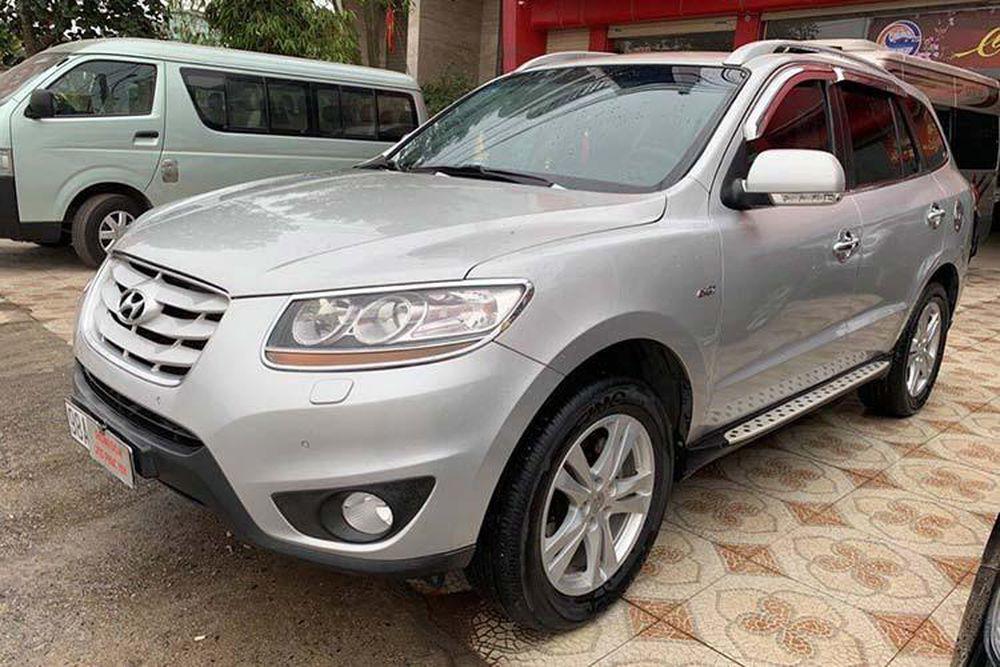 Hyundai Santa Fe Slx Dung Hơn 10 Năm Ban Hơn 600 Triệu đồng Bao Kiến Thức