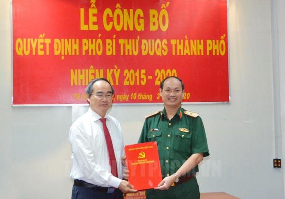 Thiếu Tướng Nguyễn Văn Nam được Chỉ định Lam Pho Bi Thư đảng ủy Quan Sự Tp Hcm Phap Luật Plus