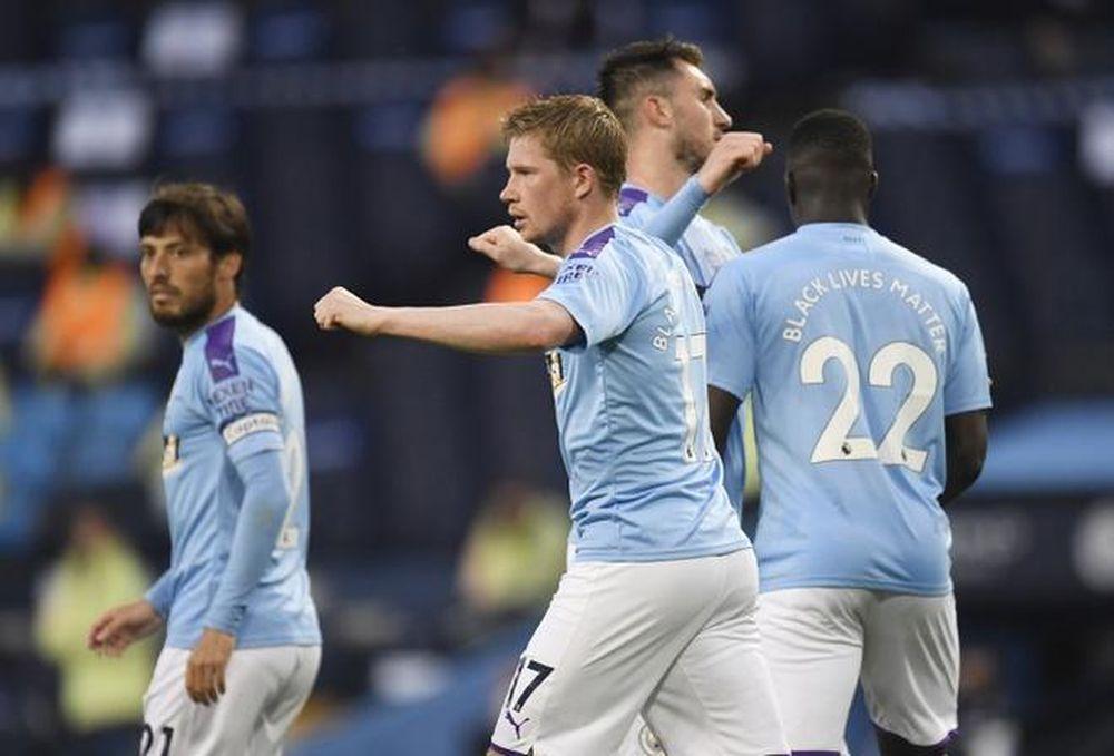 Man City đe Bẹp Arsenal Trong đại Chiến Trở Lại Của Ngoại Hạng Anh Bao Cong Ly