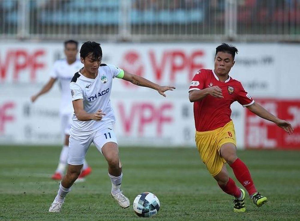 Bảng Xếp Hạng Vong 10 V League 2020 Ngay 17 7 2020 Tuấn Anh Ghi Ban Hagl Len Top đầu Thời đại