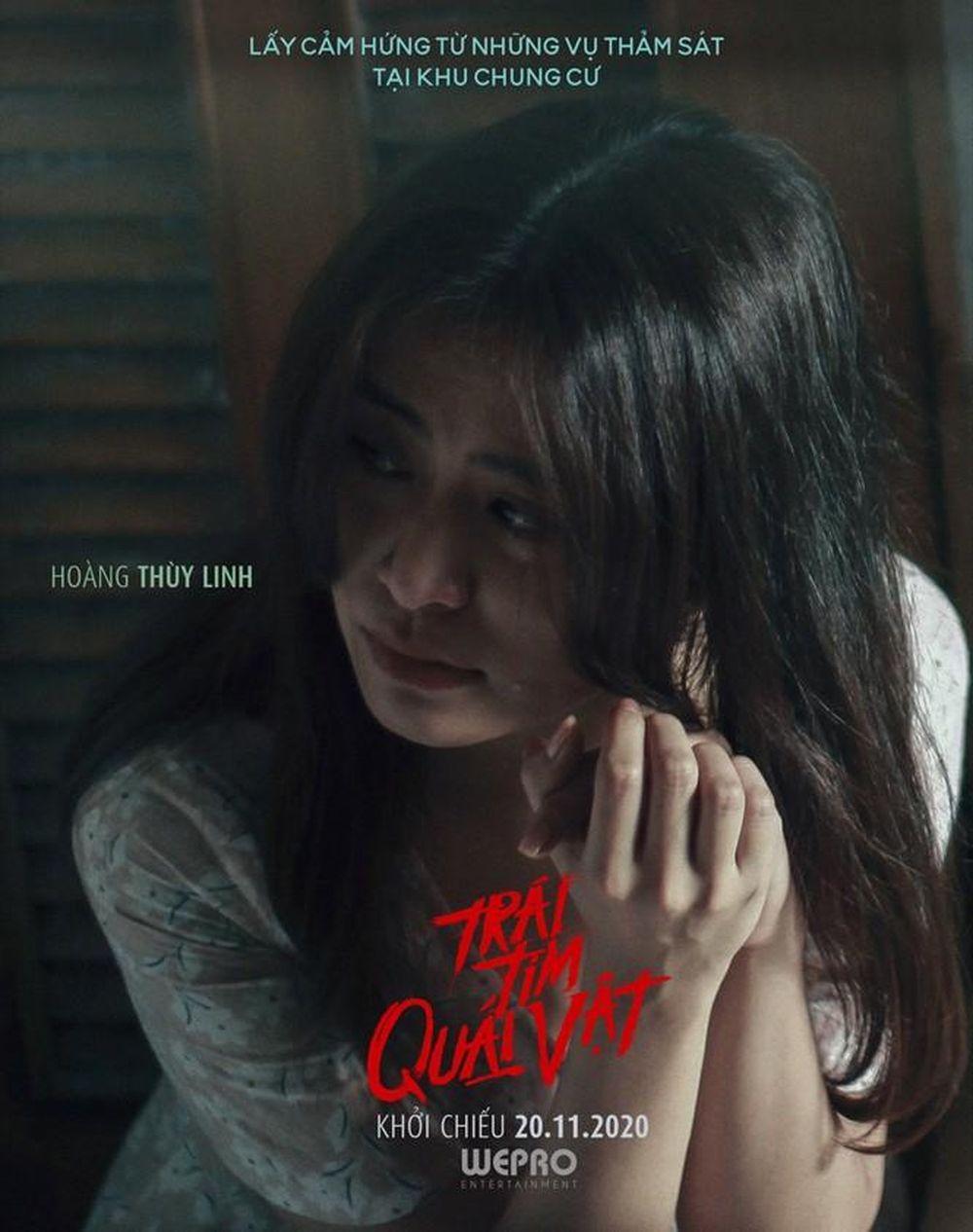 Hoàng Thùy Linh, Trịnh Thăng Bình xuất hiện đáng sợ trong trailer 'Trái tim  quái vật' - Báo Hoa Học Trò