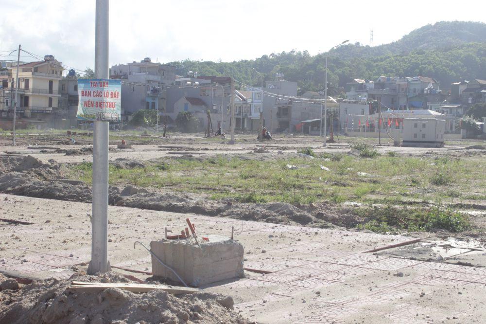Kết quả hình ảnh cho dự án chưa hoàn thiện cơ sở hạ tầng