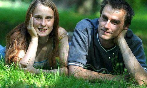 Cặp đôi Patrick Stuebing và Susan Karolewski.