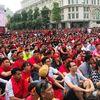 Nhiều màn hình Led 'khủng' trên phố Nguyễn Huệ phục vụ AFF Suzuki Cup 2018