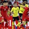 Góp dấu giày vào cả 2 bàn thắng của Đội tuyển Việt Nam, Đức 'cọt' đã có một màn trình diễn khá ấn tượng ở trận đấu gặp tuyển Malaysia.