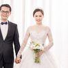 NSND Trung Hiếu tình tứ bên cô dâu kém 19 tuổi trong bộ ảnh cưới lung linh