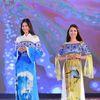 NTK dân tộc Tày cùng HH Ngọc Hân gây ấn tượng tại Lễ hội văn hóa thổ cẩm Việt Nam