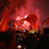 Chiến thắng quá thuyết phục trước đối thủ cực mạnh Jordan, hàng ngàn CĐV đổ ra đường ăn mừng chúc mừng đội tuyển Việt Nam