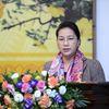 Chủ tịch Quốc hội gặp mặt báo chí nhân dịp Xuân mới