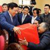 Phó Thủ tướng Phạm Bình Minh thăm hộ nghèo, gia đình chính sách tỉnh Nam Định