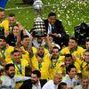 Đội chủ nhà Brazil đã chính thức trở thành tân vương giải đấu khu vực sau chiến thắng thuyết phục 3-1 trước đối thủ Peru ở trận chung kết diễn ra trong ngày 8-7, cũng là danh hiệu Copa América lần thứ chín trong lịch sử của 'những vũ công samba'.
