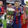 Top 10 cầu thủ giành nhiều danh hiệu nhất của làng bóng đá thế giới, hậu vệ Dani Alves tạm thời đứng thứ 2.