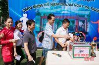 K51 THPT Phan Đình Phùng gây quỹ từ thiện hơn 100 triệu đồng