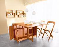 Choáng ngợp bàn ăn 'khắc nhập khắc xuất' dành cho nhà bếp nhỏ