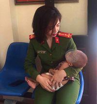 Thượng úy Nguyễn Khánh Vi kể lại giây phút cứu cháu bé suýt bị 'ném' xuống cầu