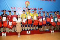 Bế mạc Giải vô địch bóng bàn thiếu niên, nhi đồng Thủ đô mở rộng lần thứ II