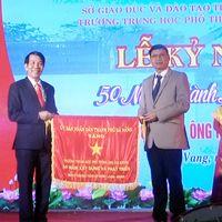 Kỷ niệm 50 năm thành lập Trường THPT Ông Ích Khiêm